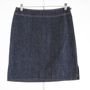ANN TAYLOR – Denim Pencil Skirt – Size 10